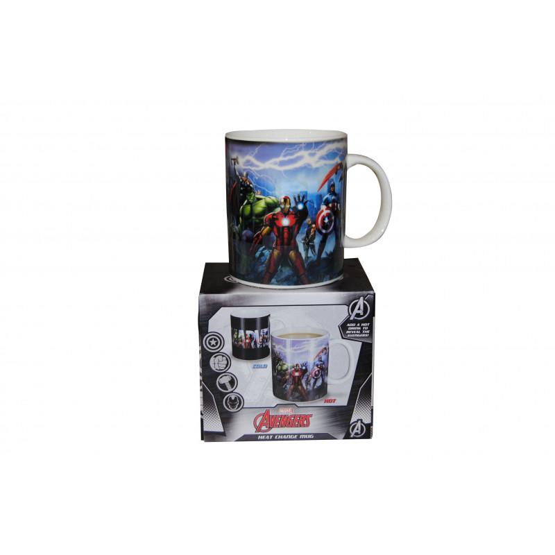 Mug Avec Thermoréactif Magique Personnages Sur MarvelTasse Rj53L4A