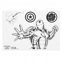 Lot de 16 Stickers Super-Héros Marvel Avengers