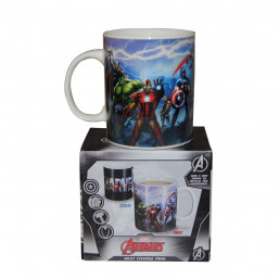 Mug Thermoréactif Personnages Marvel Avengers