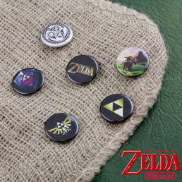 Badges Zelda - Lot de 6