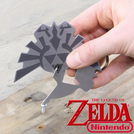 Porte-Clés Multifonction Zelda 3 en 1