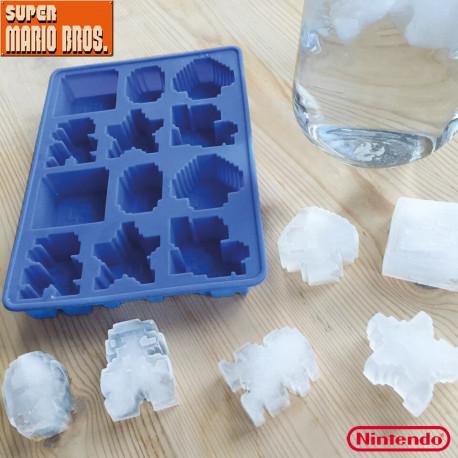moule à glaçons en silicone à l'effigie du jeu Super Mario Bros