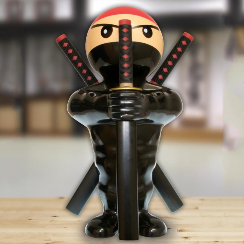 set de couteaux de cuisine original en forme de ninja sur logeekdesign. Black Bedroom Furniture Sets. Home Design Ideas