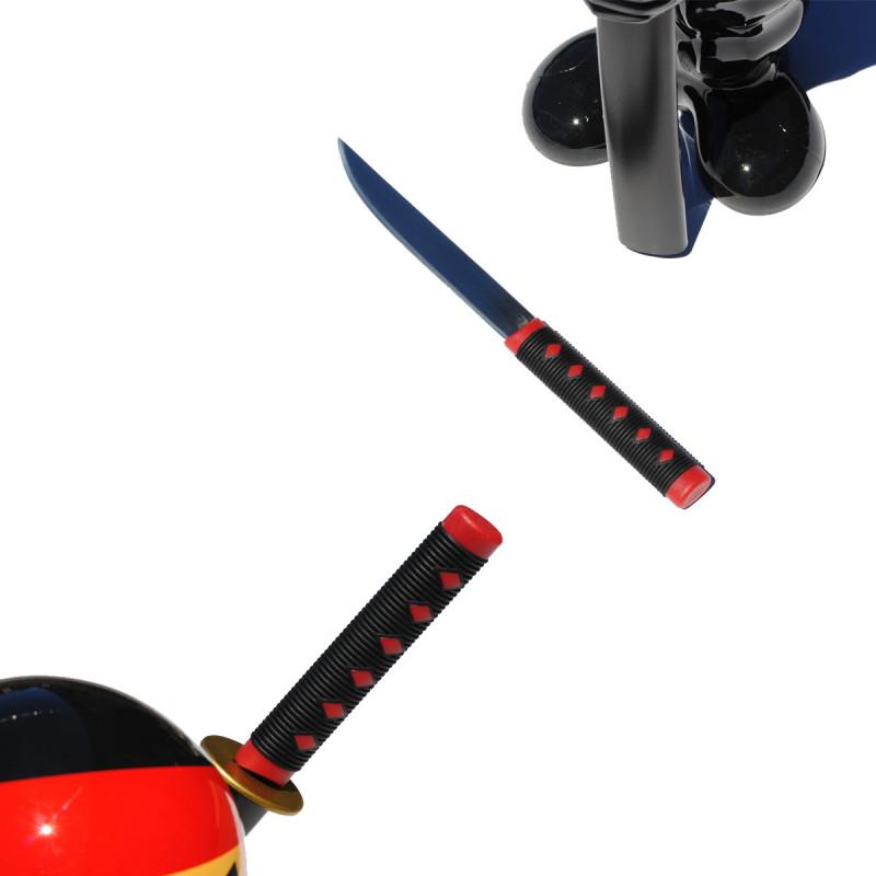 set de couteaux de cuisine original en forme de ninja sur. Black Bedroom Furniture Sets. Home Design Ideas