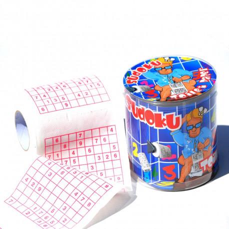 papier toilette sudoku cadeau fun sur. Black Bedroom Furniture Sets. Home Design Ideas