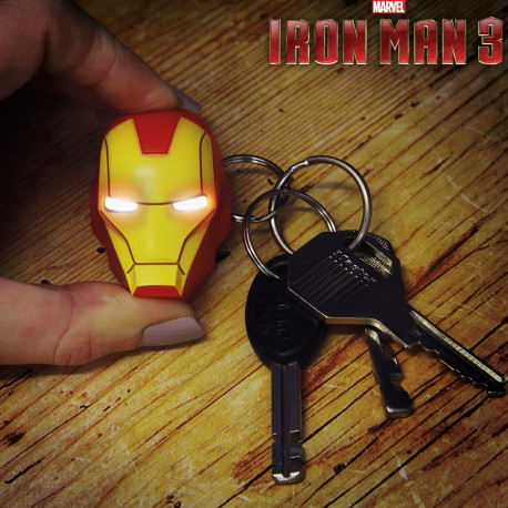 Porte-Clés Iron Man Torche Led Marvel