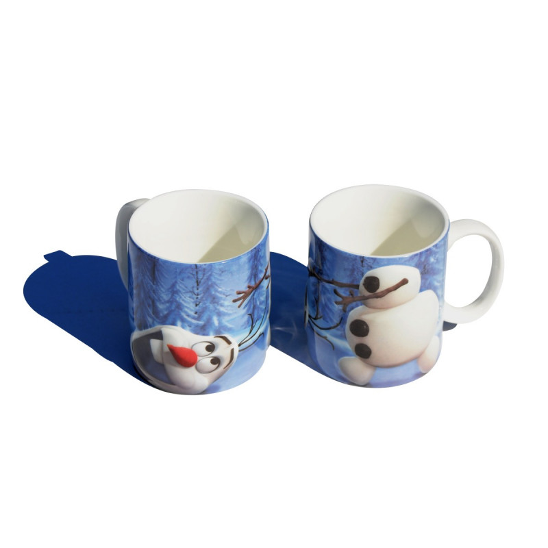 le mug 2d olaf la reine des neiges qui fait fondre de. Black Bedroom Furniture Sets. Home Design Ideas