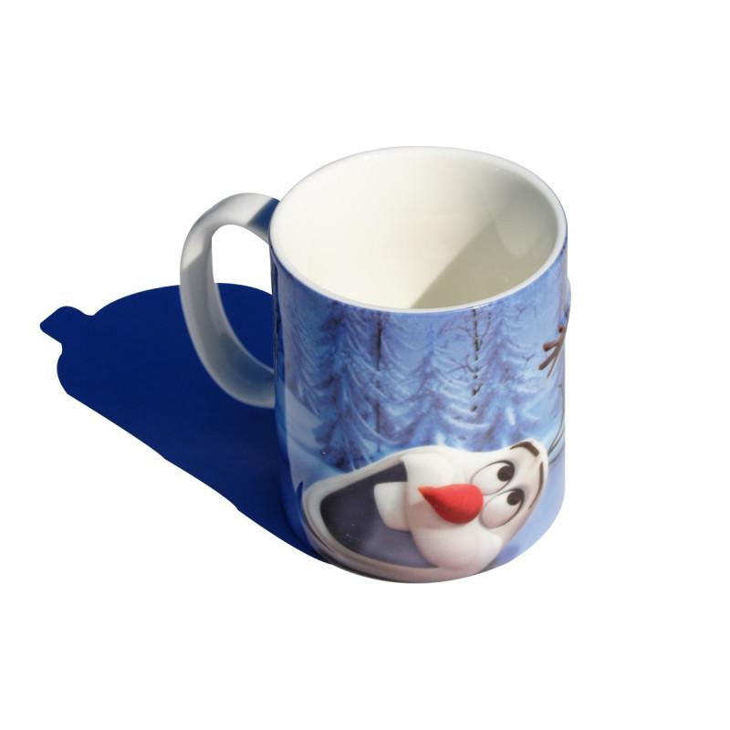 Le mug 2d olaf la reine des neiges qui fait fondre de - Olaf de la reine des neige ...