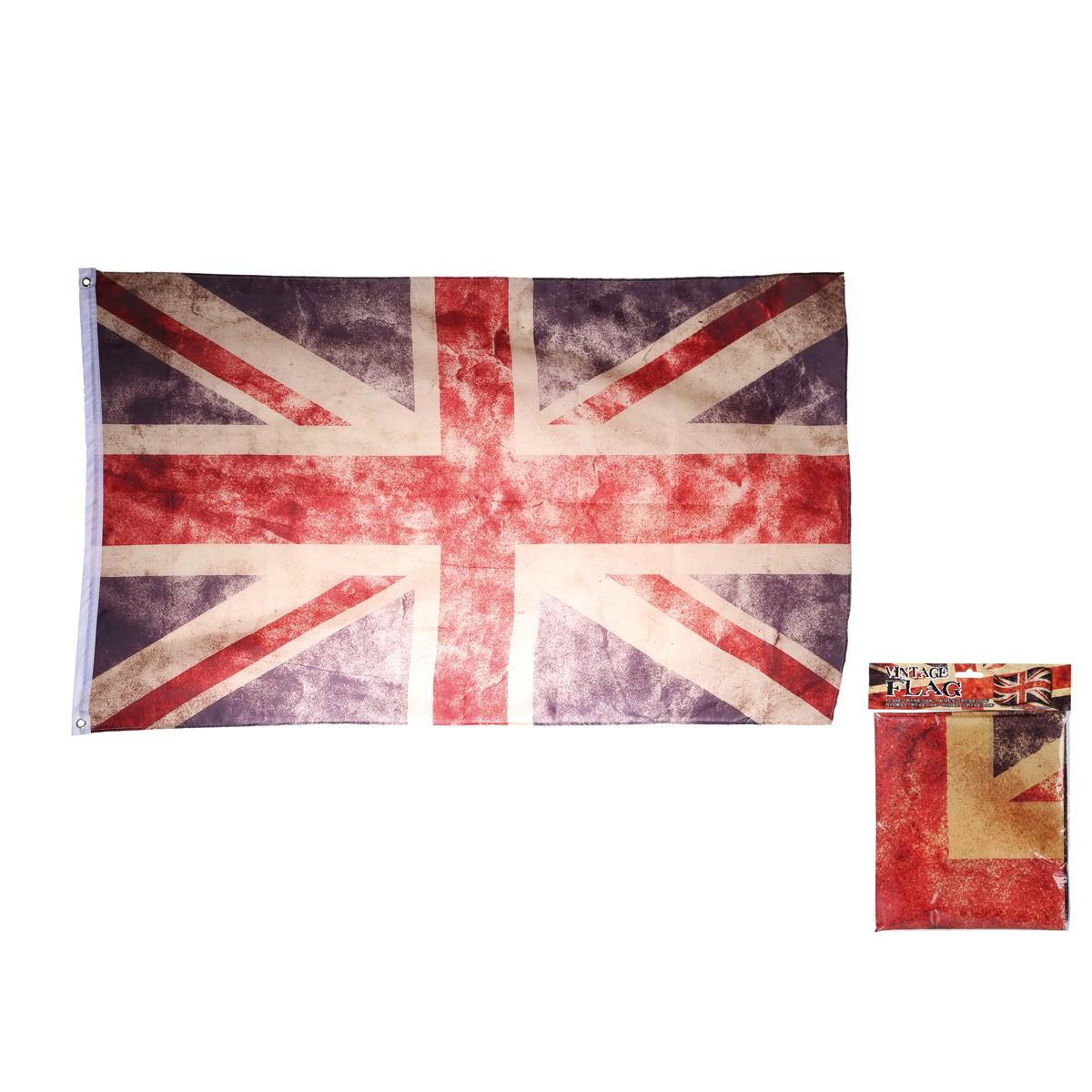 drapeau anglais g ant pour d coration maison sur logeekdesign. Black Bedroom Furniture Sets. Home Design Ideas