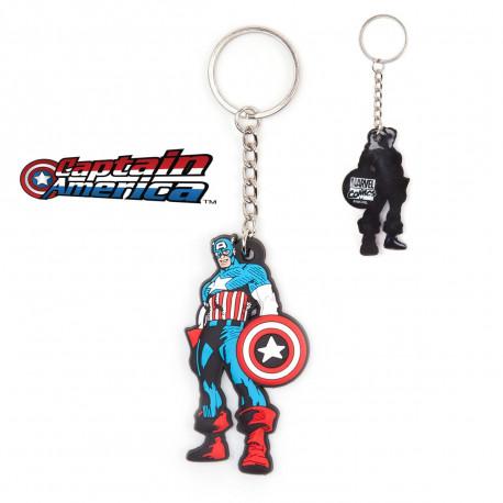 Porte-Clés Captain America Personnage Marvel