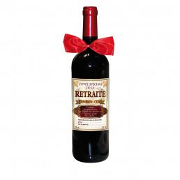 Bouteille de Vin Cuvée Spéciale de la Retraite