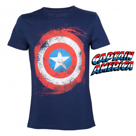 T-Shirt Logo Captain America Marvel