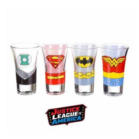 Shooters Justice League - lot de 4