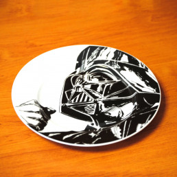 Assiettes Star Wars en Céramique - Lot de 4