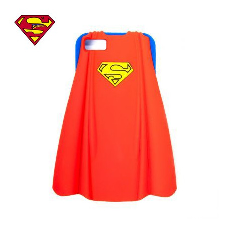 Coque iPhone 5 Superman Silicone