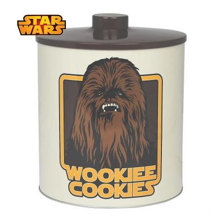 cadeau star wars bo te biscuits l 39 effigie de chewbacca sur. Black Bedroom Furniture Sets. Home Design Ideas