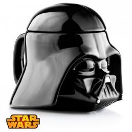 Mug 3D Dark Vador Céramique Star Wars avec Couvercle