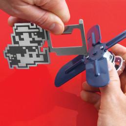 Porte-Clés Multifonction Super Mario Bros Nintendo