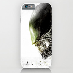 Coque iPhone Alien