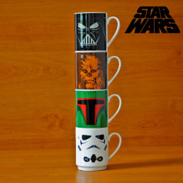 Tasses Empilables Personnages Star Wars