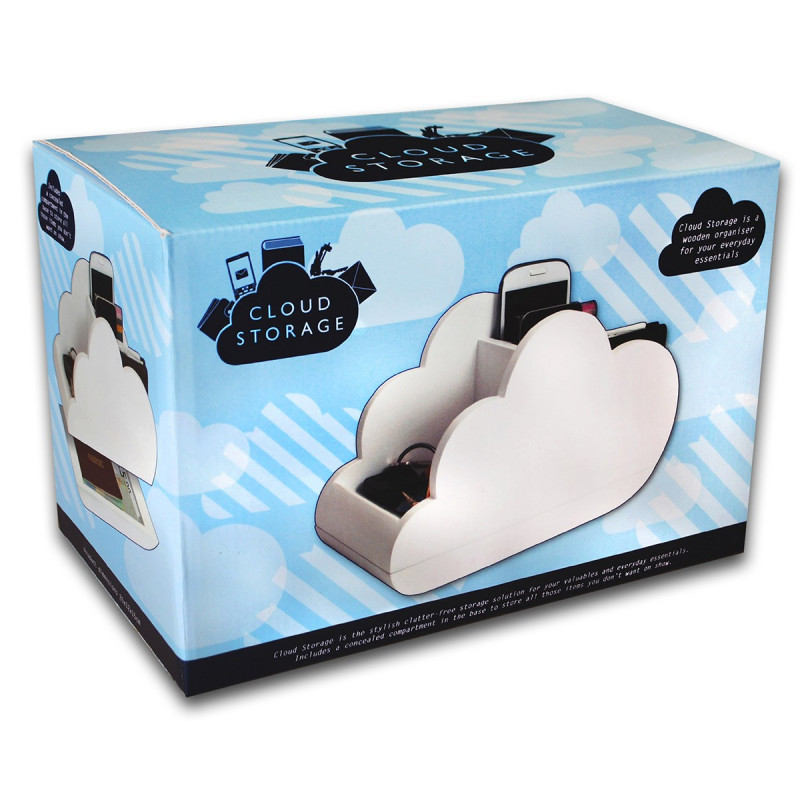 vide poches original forme nuage avec compartiment secret sur logeekdesign. Black Bedroom Furniture Sets. Home Design Ideas
