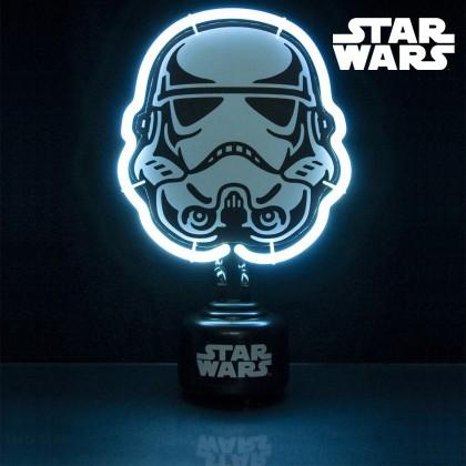 lampe star wars lampe n on l 39 effigie du stormtrooper sur logeekdesign. Black Bedroom Furniture Sets. Home Design Ideas