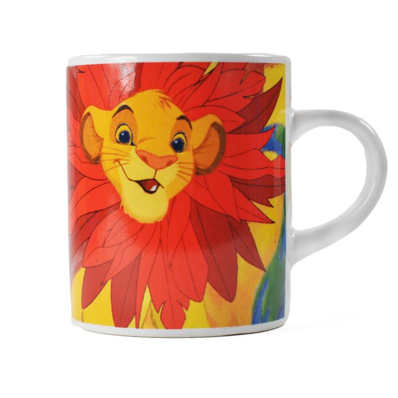 Tasse Expresso Qualité Céramique Pour En Sur Le Roi De Logeekdesign Lion RL54jAq3