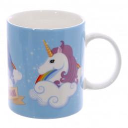Mug Licorne Bleu - I Don't Believe in Humans