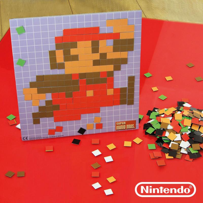 Puzzle Magnétique Nintendo Super Mario Bros Avec Personnages