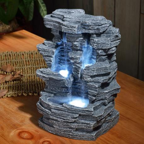 Fontaine Zen DIntrieur En Forme De Grand Canyon Sur Logeekdesign