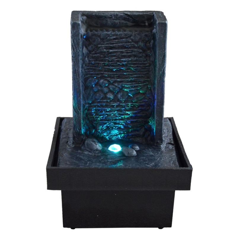 Fontaine d int rieur zen avec clairage par led for Fontaine interieure zen