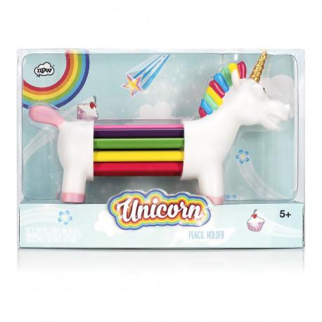 Pot à Crayons Licorne Arc-en-Ciel