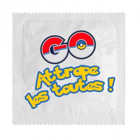 Préservatif Pokemon Go attrape les toutes