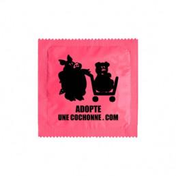 Préservatif Adopte une cochonne