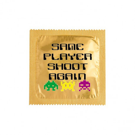 Préservatif Same player shoot again