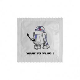 Préservatif Want to plug