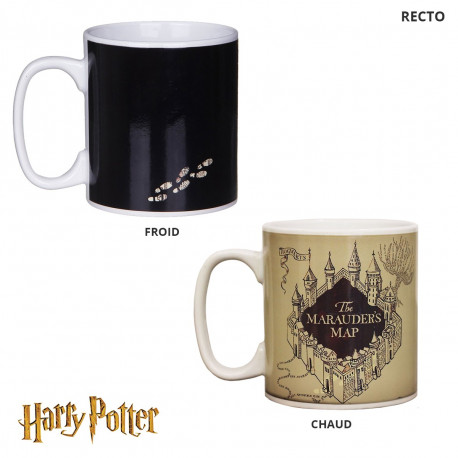 Photo du mug thermoréactif Harry Potter Carte du Maraudeur
