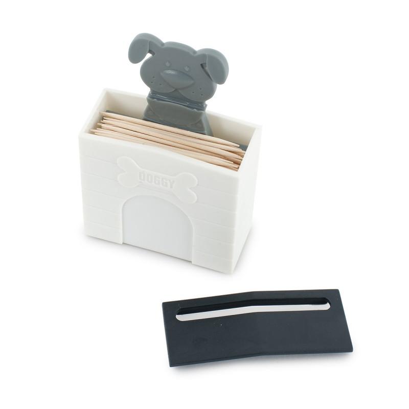 Distributeur cure dents original en forme de niche de - Porte gamelle chien design ...