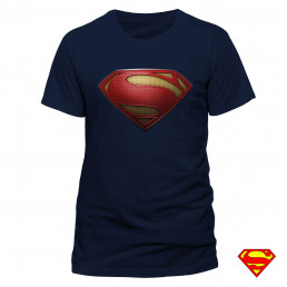 T-shirt Superman Man of Steel Homme