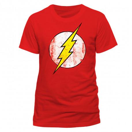 T-shirt Flash Logo Effet Vintage