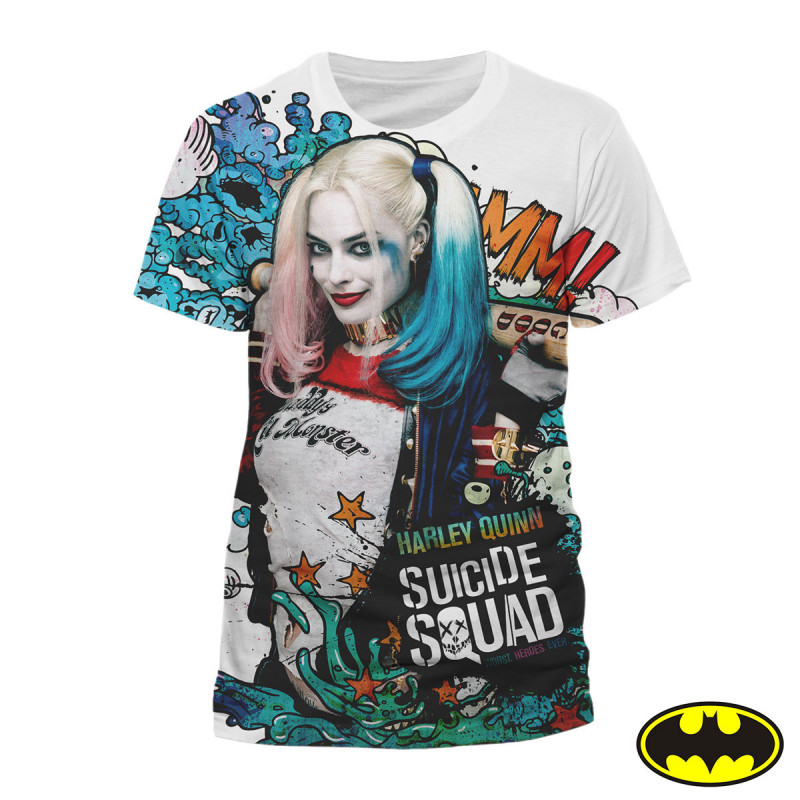 Photo du t-shirt Harley Quinn Graffiti