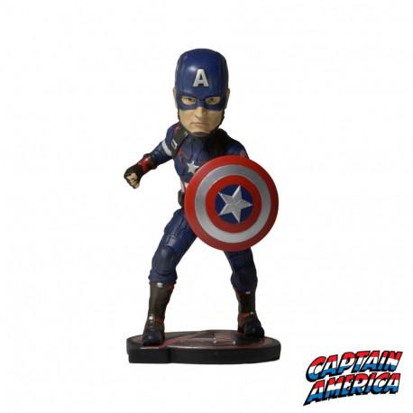Figurine Captain America à Tête Oscillante