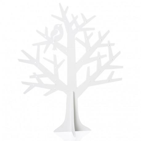 Porte bijoux en forme d 39 arbre en bois pour fashionistas - Arbre porte bijoux ...