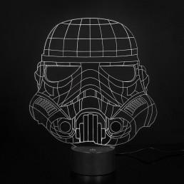 Lampe Acrylique Stormtrooper Star Wars