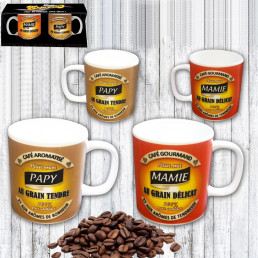 Tasses à Expresso Mamie & Papy