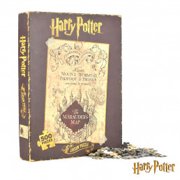 Puzzle Harry Potter - Carte du Maraudeur