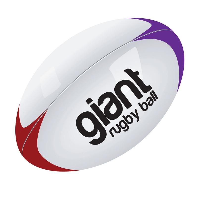 ballon de rugby g ant gonflable pour jeux collectifs et d coration sur logeekdesign. Black Bedroom Furniture Sets. Home Design Ideas