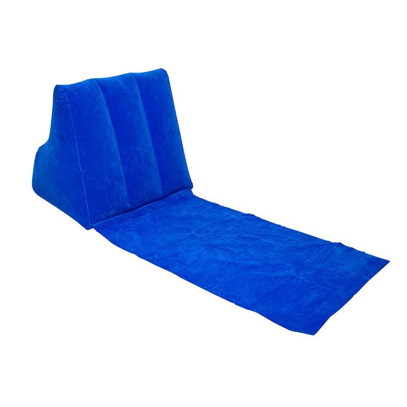 tapis de relaxation nomade avec dossier inclin gonflable sur logeekdesign. Black Bedroom Furniture Sets. Home Design Ideas
