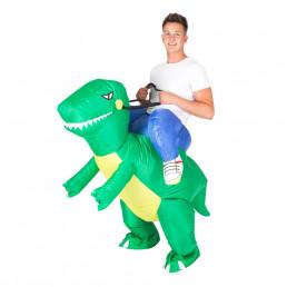 Costume Dinosaure Raptor Gonflable