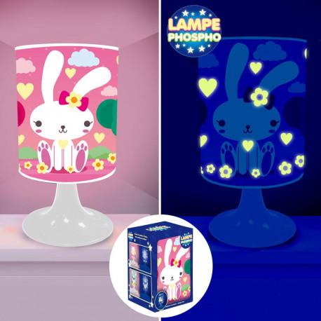 Lampe de Chevet Lapin Phosphorescente